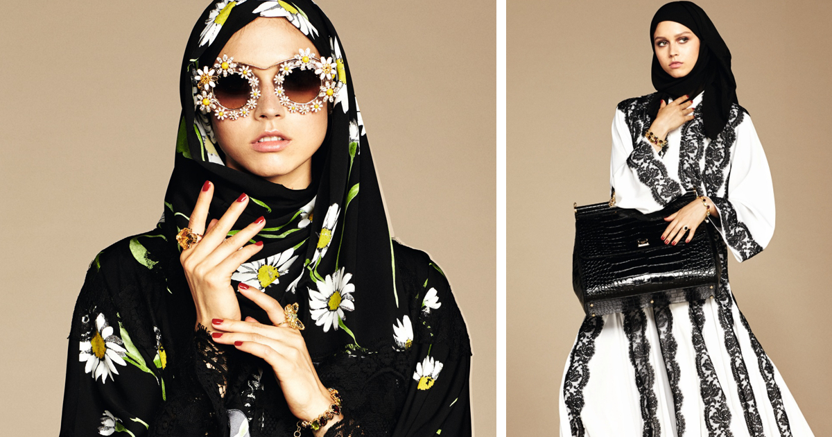 Dolce & Gabbana Lança Sua Primeira Coleção De Hijabs