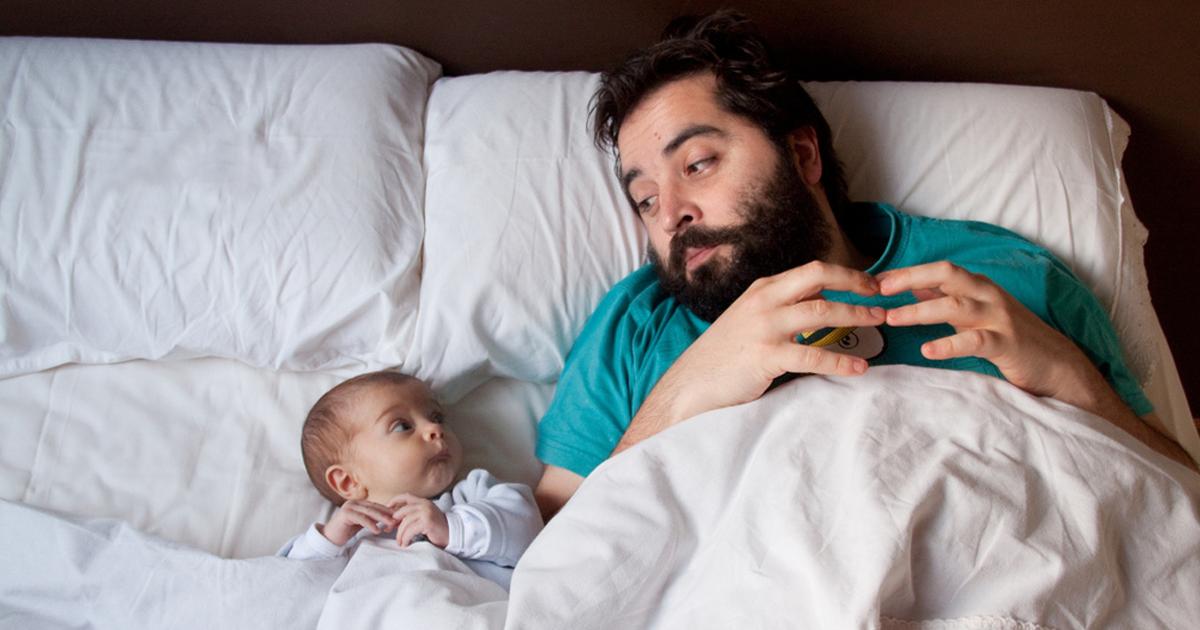 10 Pais Com Seus Bebês Mostrando Que A Paternidade Revela O Melhor Nos Homens