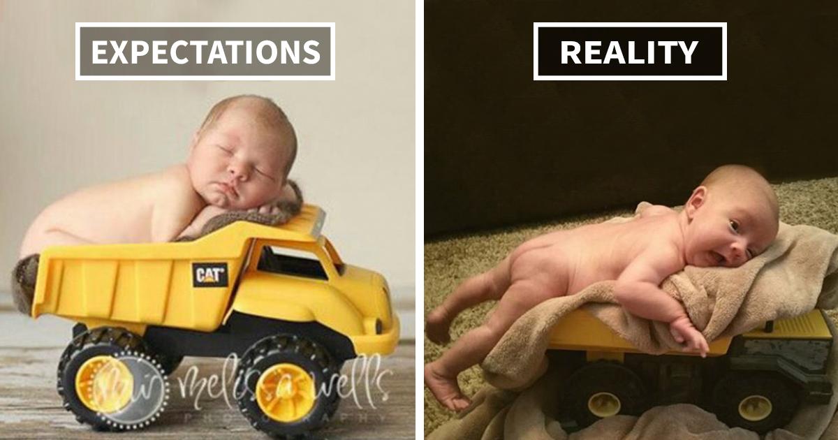 15 Tentativas De Fotos De Bebês Muito Engraçadas Que Falharam No Pinterest