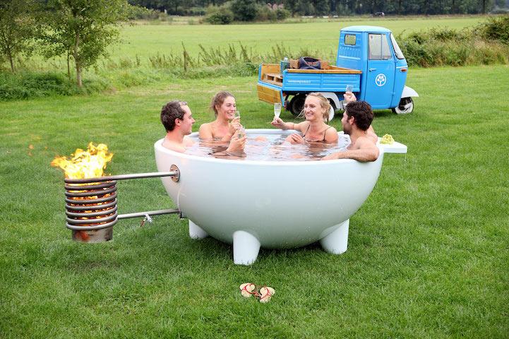 Conheça A Banheira De Hidromassagem Portátil Que Te Permite Relaxar Onde Você Quiser