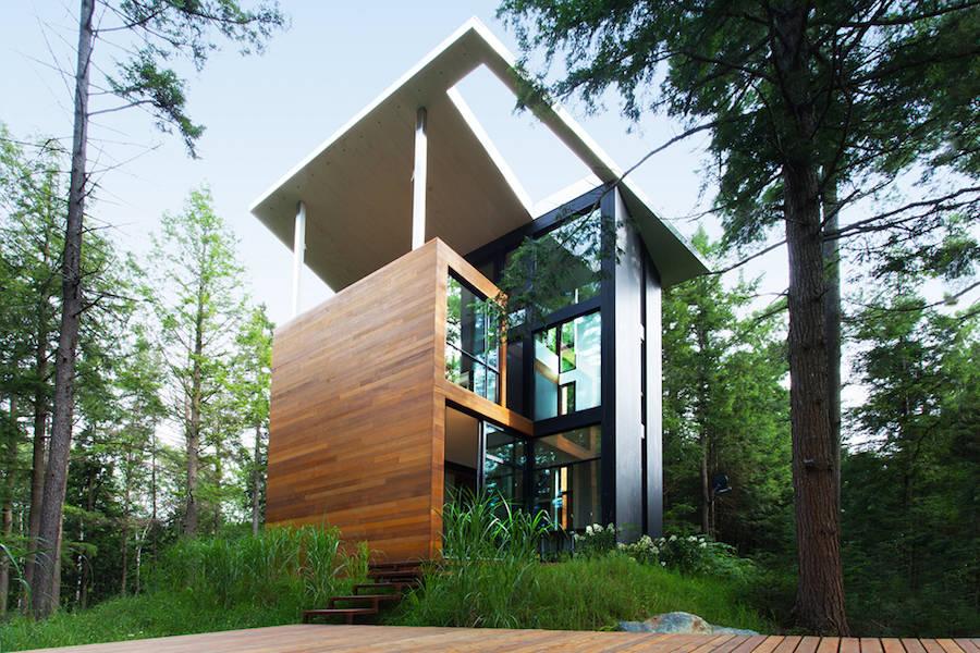 A Casa Geométrica E Original De Um Escultor No Canadá