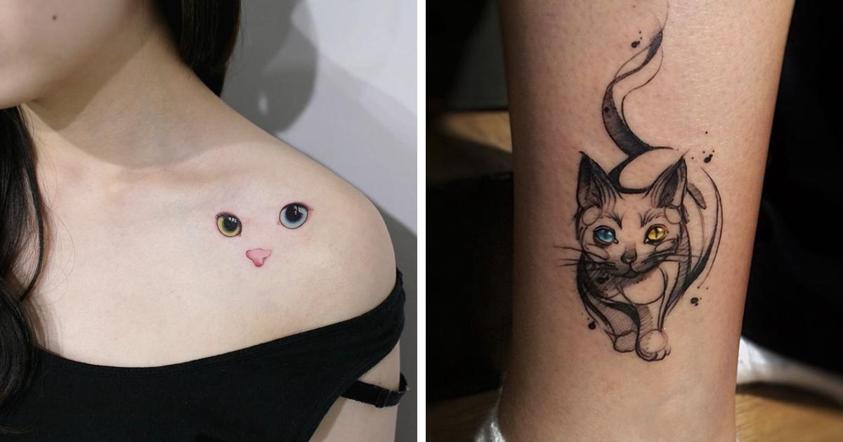 15 melhores ideias de tatuagem de gatos de todos os tempos