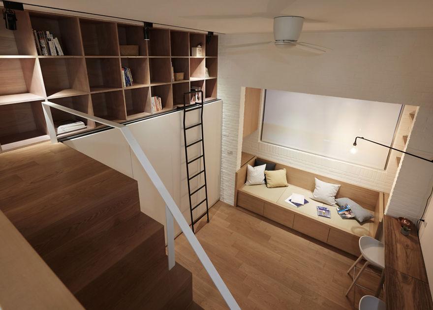 As pessoas não vão acreditar que este apartamento tem apenas 22 metros quadrados depois de ver essas fotos