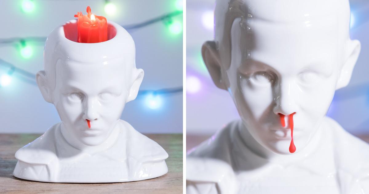 Esta vela de nariz sangrando é a coisa mais estranha que você já viu…
