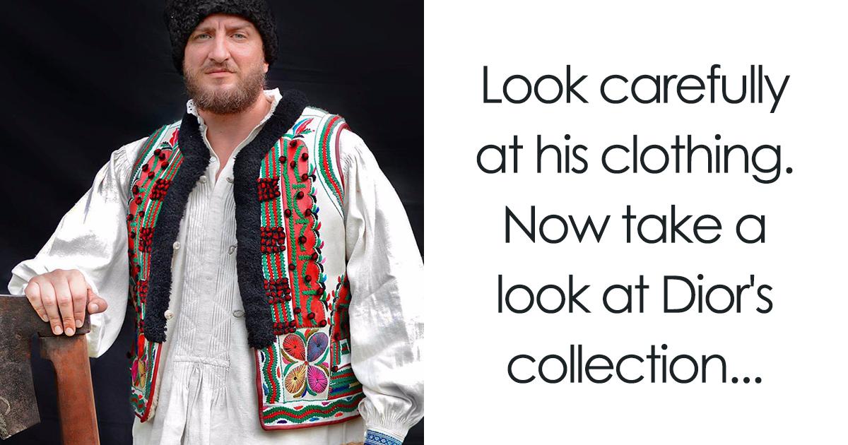 Povo romeno notou que a Dior copiou suas roupas tradicionais e decidiu revidar de uma maneira genial