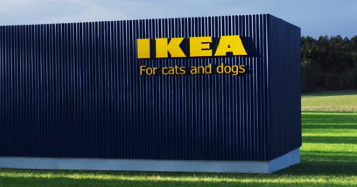 A IKEA acaba de lançar uma coleção de móveis para animais de estimação