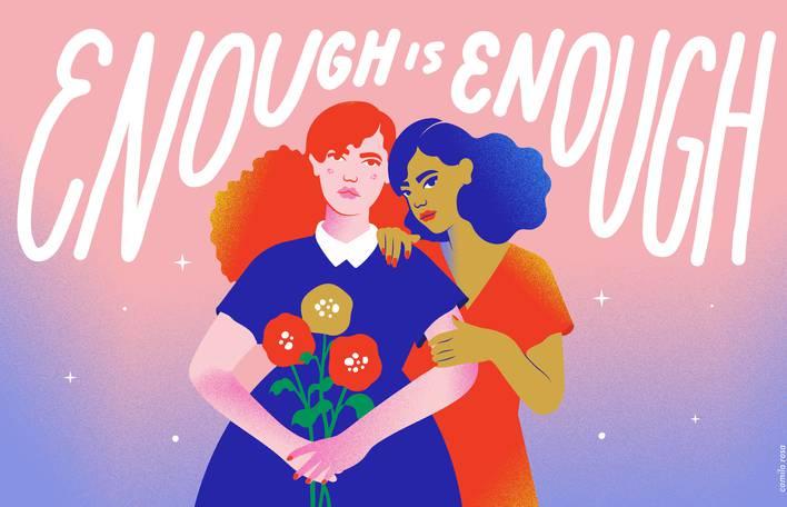 O feminismo e o veganismo ilustrados por uma artista plástica brasileira