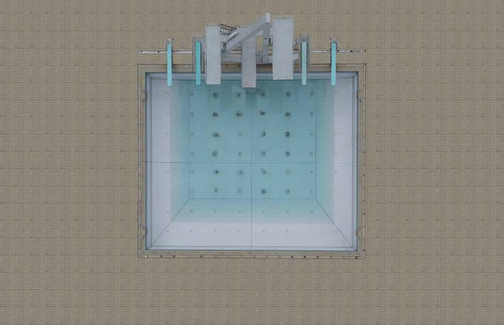 15 imagens aéreas de piscinas que vão te deixar com vontade de nadar agora