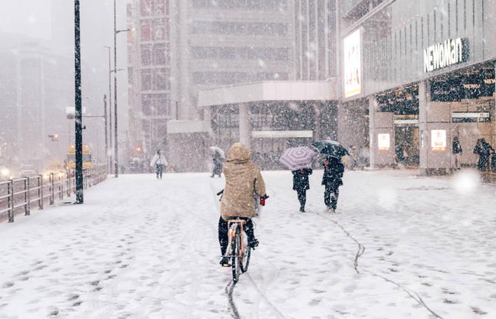 Repare nestas imagens mágicas de Tóquio sob a neve