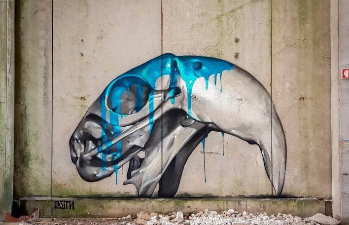 Confira os impressionantes murais deste artista de rua português