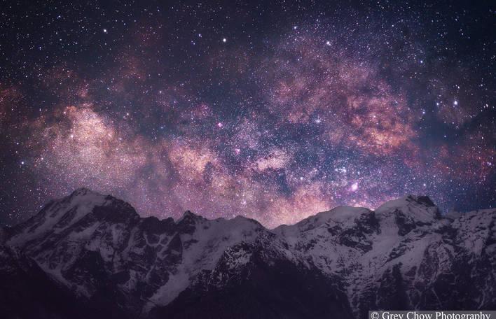 8 fotos inacreditavelmente lindas da Via Láctea