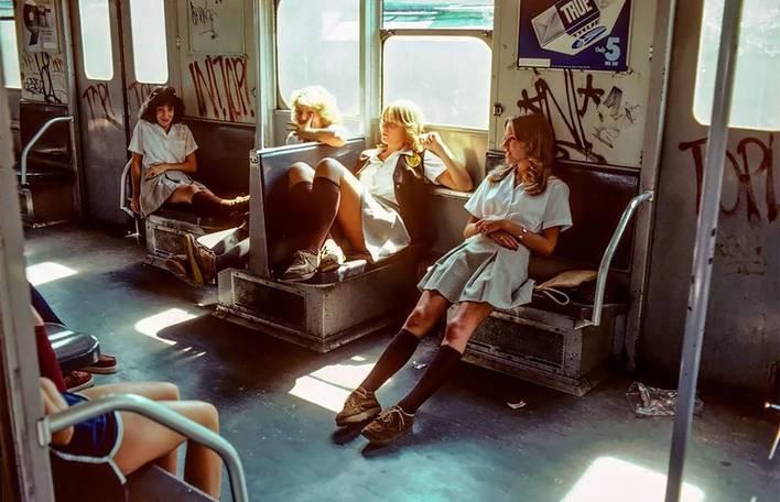 Fotografias deslumbrantes do metrô de Nova York nos anos 80