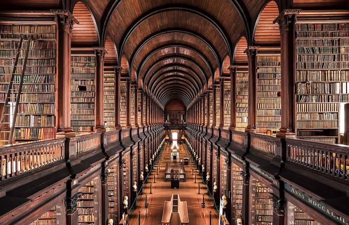 11 fotografias impressionantes de bibliotecas europeias