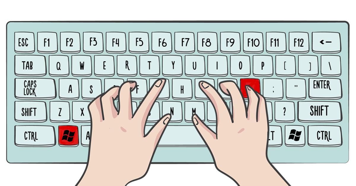 27 atalhos de teclado muito úteis para aumentar sua produtividade