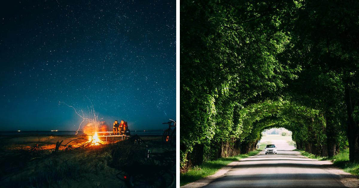 Eu explorei a vasta beleza da Letônia com a câmera nas minhas mãos