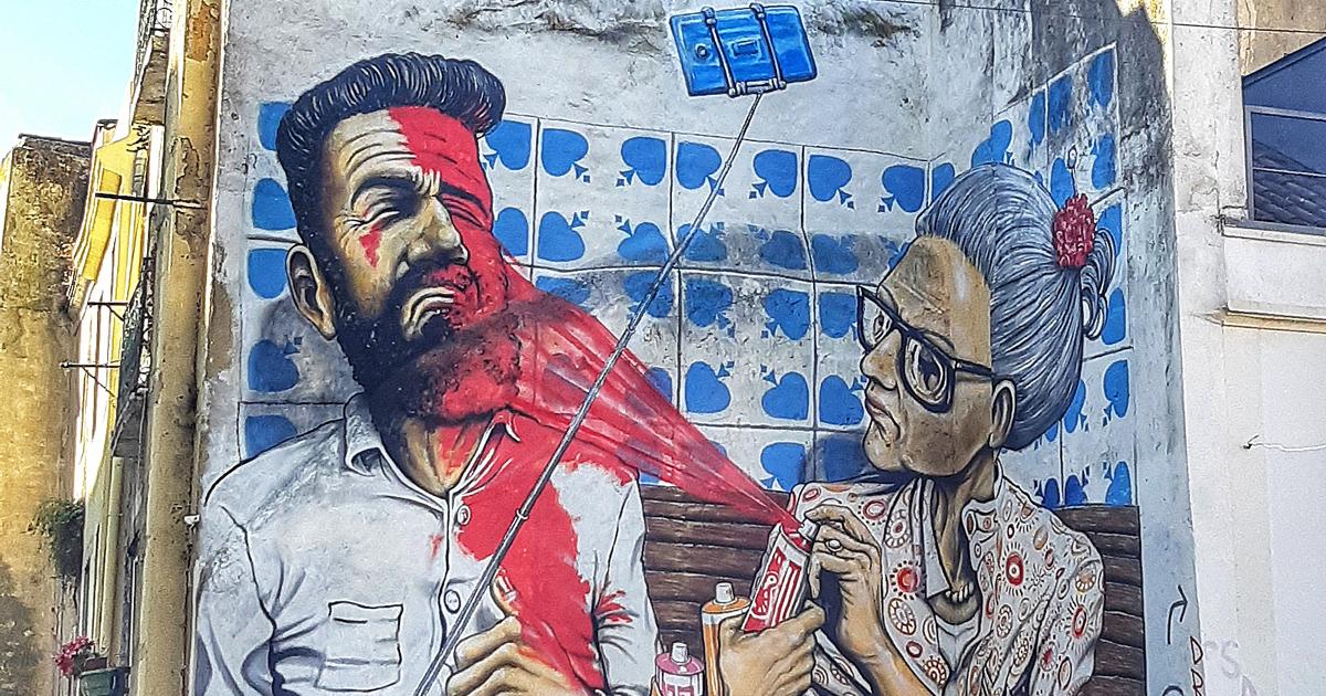 Governo de Lisboa deixa artistas de rua pintarem pela cidade e a transformação ficou magnífica