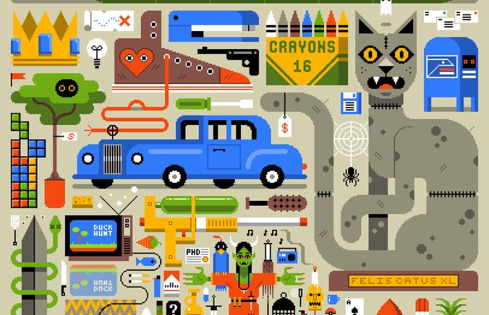 Conheça o mundo das ilustrações em movimento de Nicholas Little
