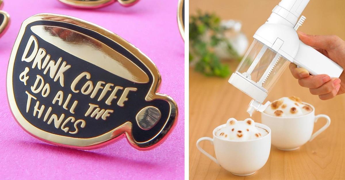 23 ideias de presentes para pessoas que amam café