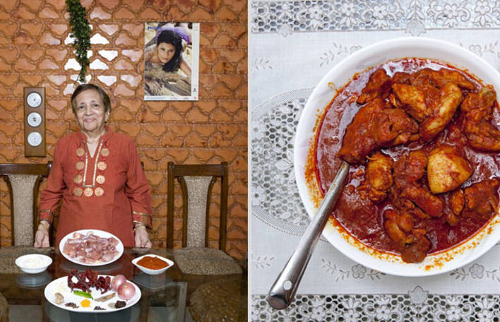 Fotógrafa viaja para 58 países para criar essa série de fotos de avós cozinhando ao redor do mundo