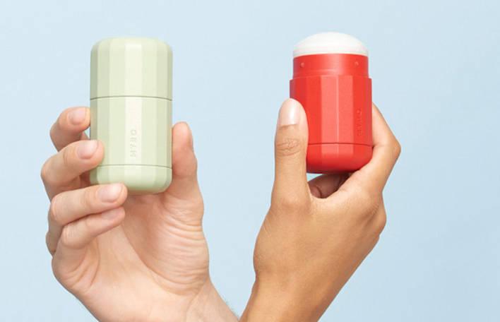 Um desodorante ecológico que respeita o corpo humano e com um design muito elegante