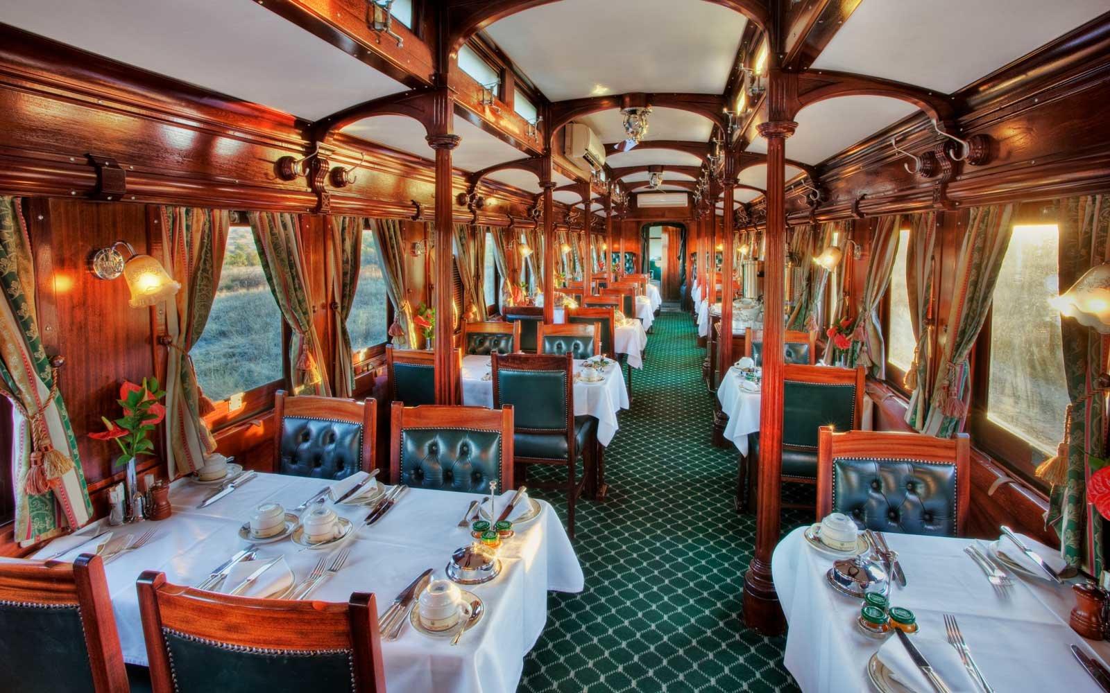 Os 12 passeios de trem mais luxuosos do mundo. Seja bem-vindo a bordo!