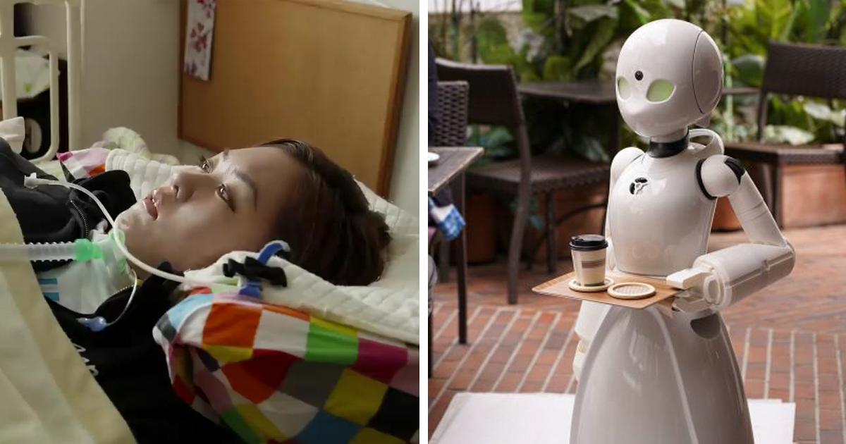Café japonês encontrou uma maneira de empregar pessoas paralisadas como garçons
