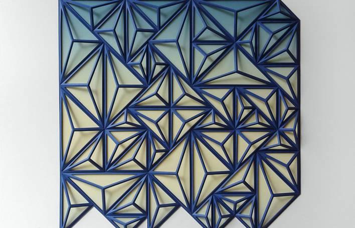Conheça as peculiares esculturas de papel deste artista americano