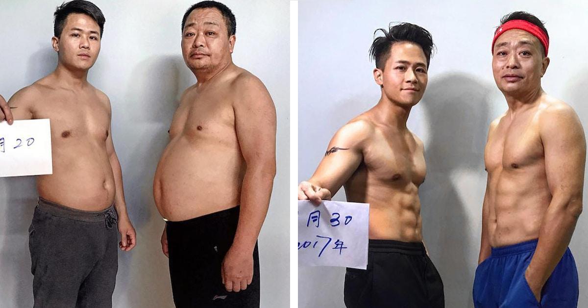 Família passa 6 meses perdendo peso e compartilha resultados inspiradores em fotos antes e depois