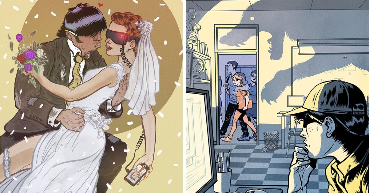 Ilustrador espanhol desafia as mentes das pessoas com 10 ilustrações provocantes