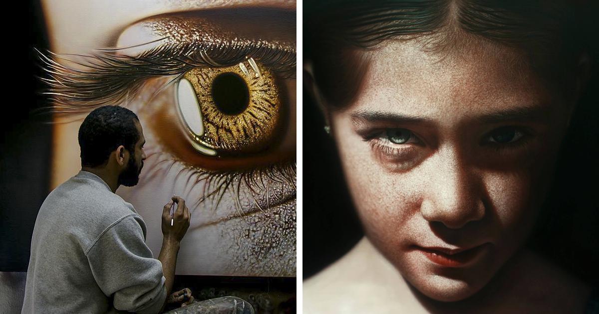 Prepare-se para confundir as pinturas deste artista da República Dominicana com fotografias