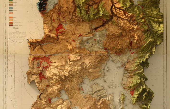 Encante-se com estes mapas tridimensionais artísticos deste entusiasta da geologia