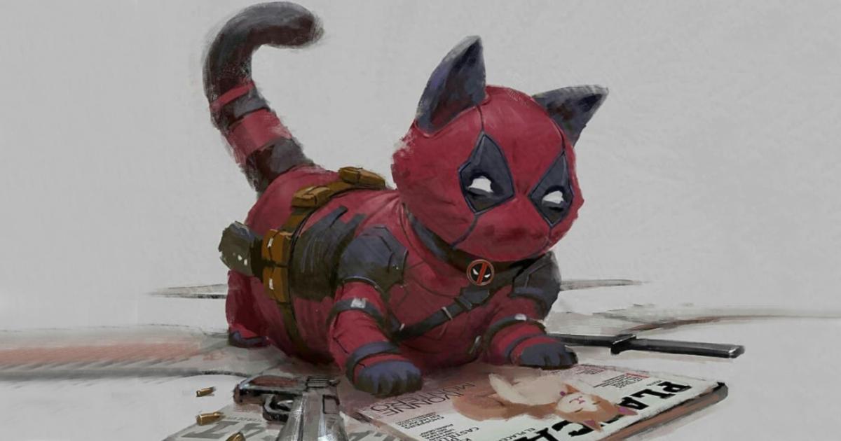 Ilustrador indonésio reimagina gatinhos como super-heróis da Marvel