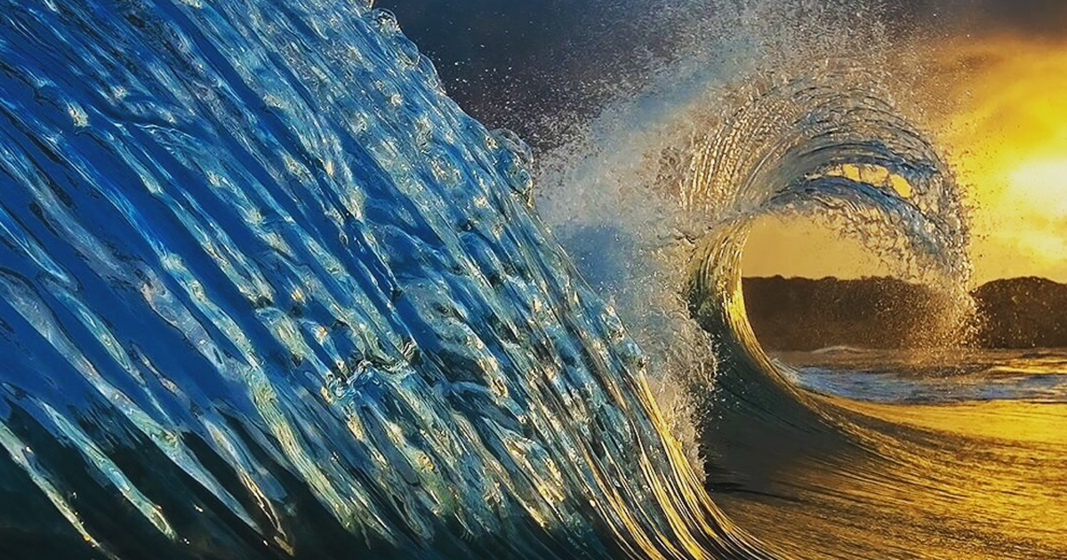 Minhas 51 melhores fotografias do oceano do ano passado. É de acalmar!