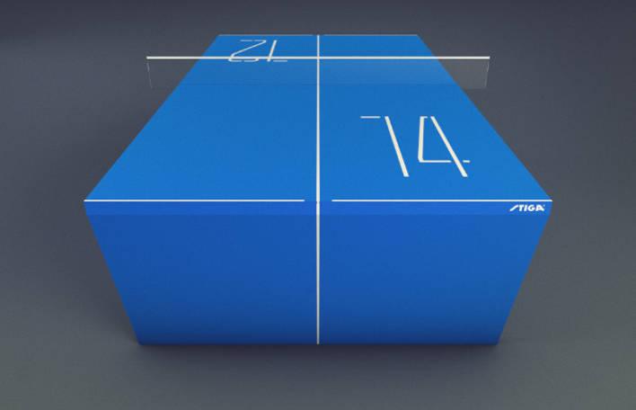 Conheça a mesa de ping-pong do futuro