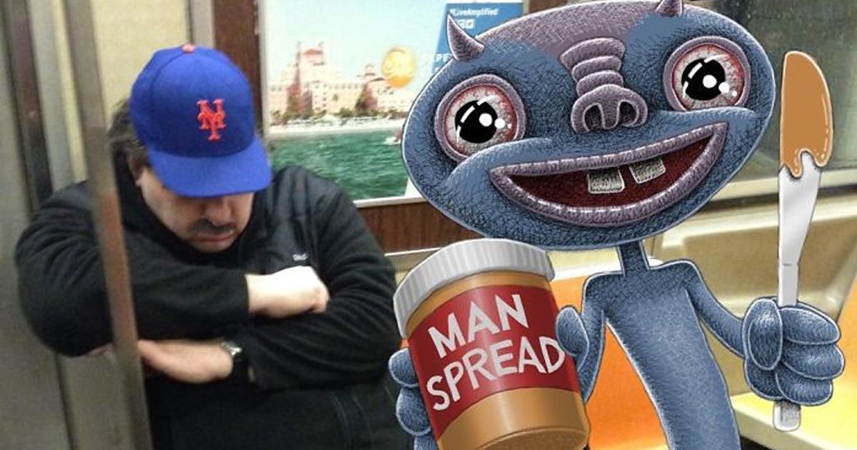 Artista imagina 47 monstros maliciosos interagindo com os passageiros no metrô de Nova York
