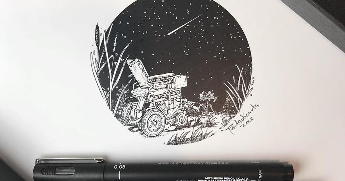 Ilustrações surreais que têm um significado oculto se você olhar de perto (43 ilustrações)