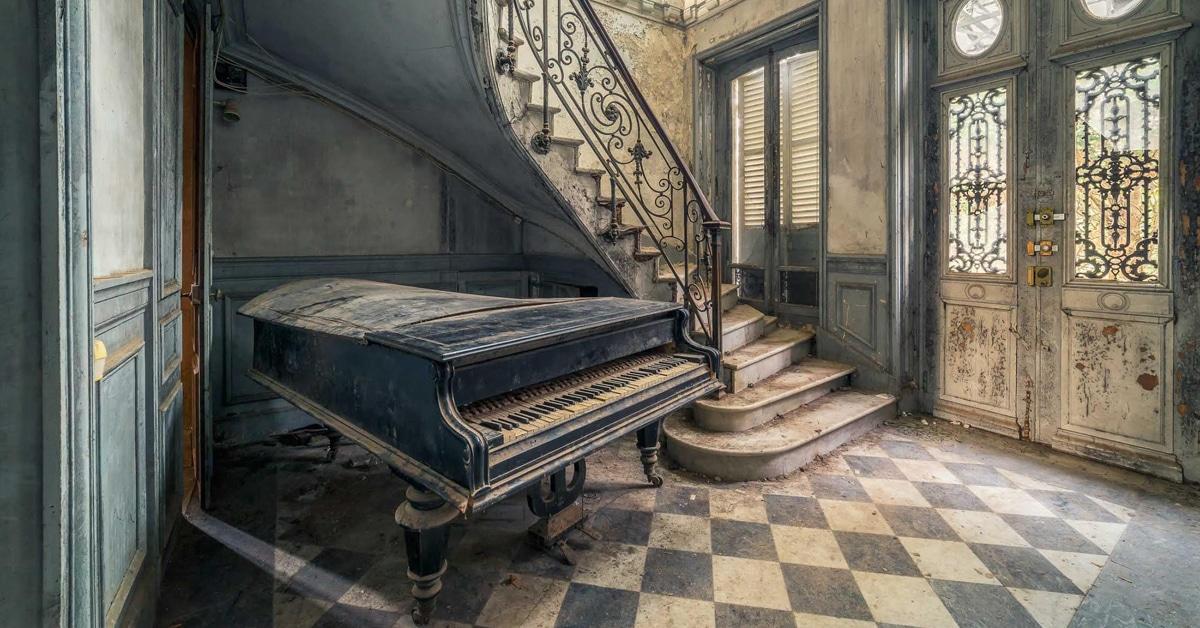 Fotógrafo viaja pela Europa para documentar a beleza de construções abandonadas