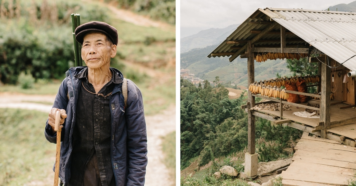 Fotos notáveis da jornada de um homem pelo norte do Vietnã