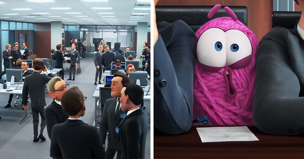 """Pixar assume a cultura tóxica e machista do ambiente de trabalho com o curta animado """"Purl"""""""