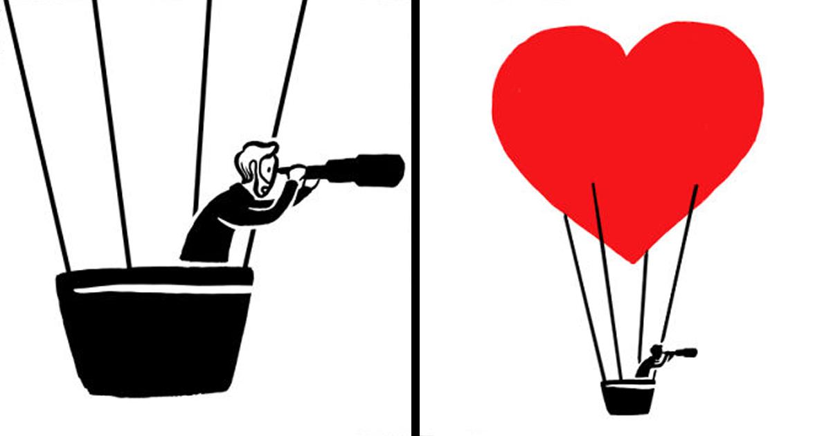 23 quadrinhos sobre o amor inesperado e peculiar