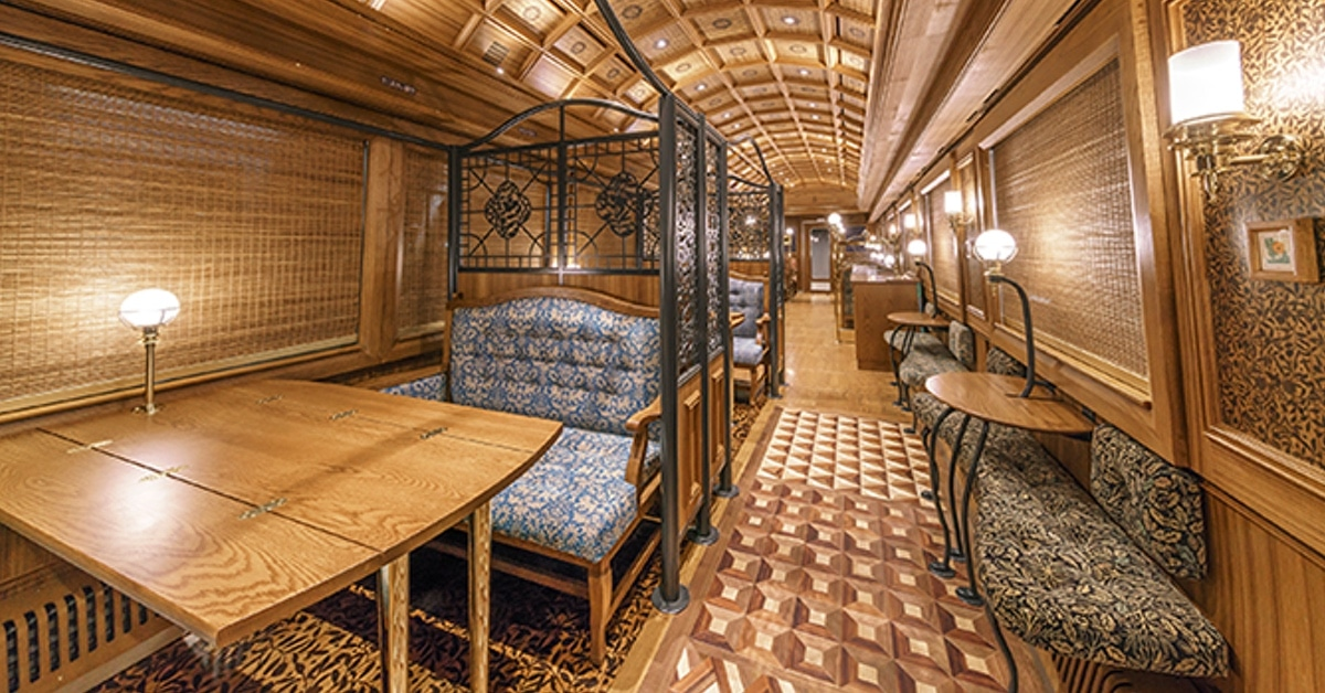 O trem panorâmico mais luxuoso do Japão está chegando em Hokkaido