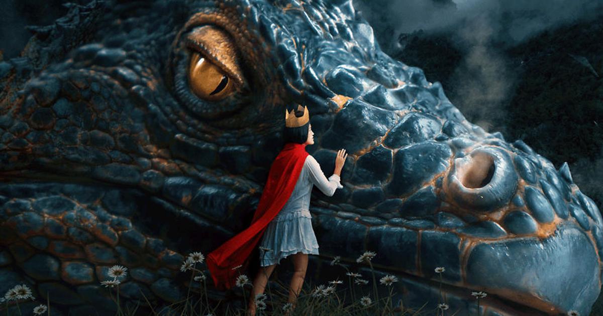 Artista transforma as histórias que existem na sua cabeça em realidade usando o Photoshop (35 imagens)