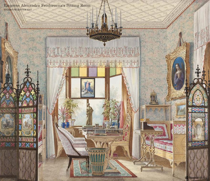 Designers trazem 6 quartos para a vida a partir de pinturas famosas