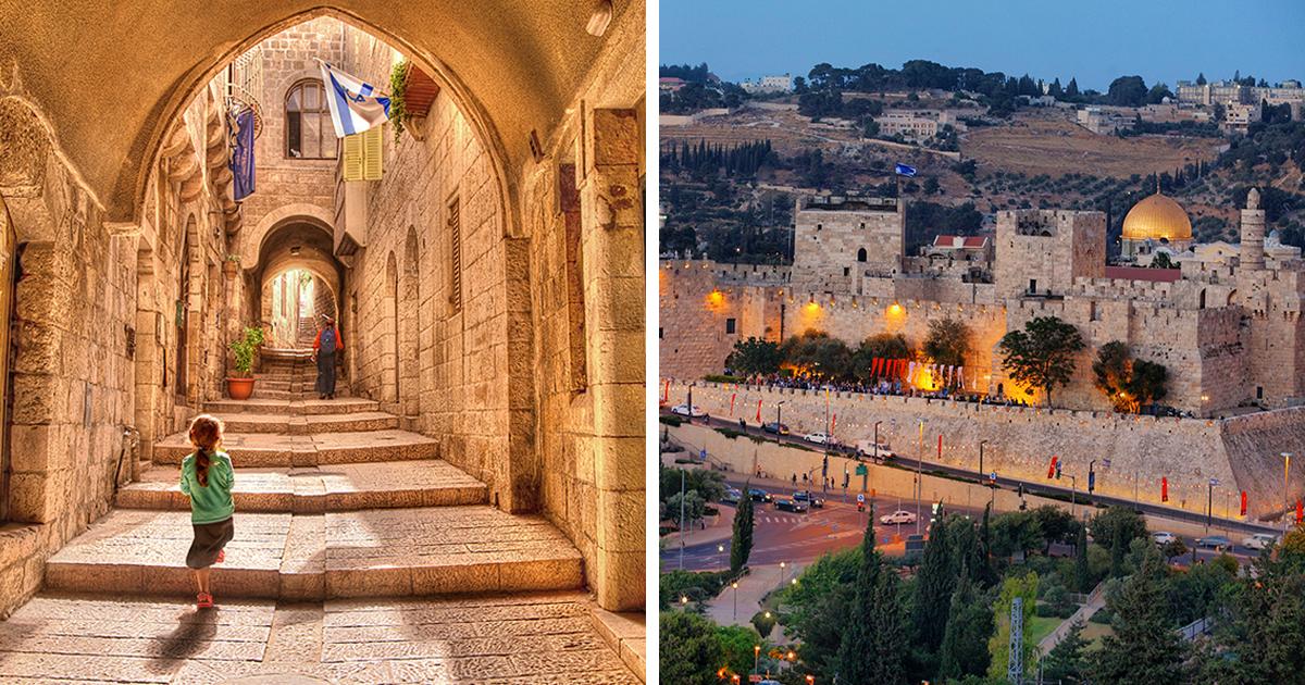 24 fotografias impressionantes de paisagens em Jerusalém como você nunca viu antes
