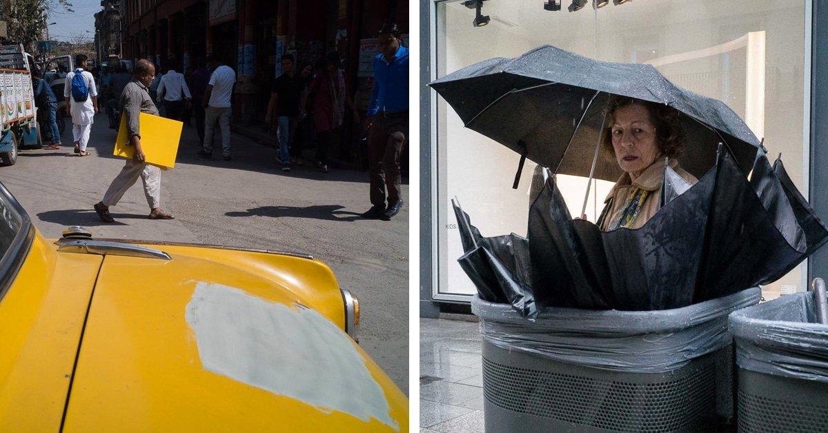 Fotógrafo de rua captura momentos mágicos em fotos perfeitamente sincronizadas