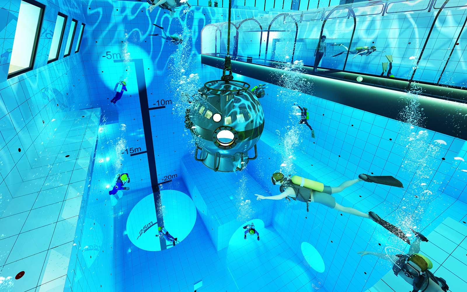 A piscina mais funda do mundo vai ter quartos de hotel com vistas subaquáticas