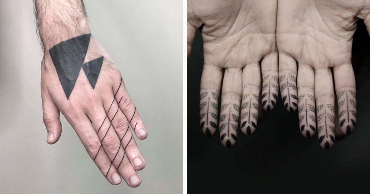 Tatuagens nos dedos são a mais nova tendência, e aqui estão algumas incríveis para você conferir