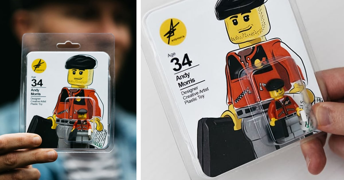 Designer desempregado transforma seu currículo em peças de Lego