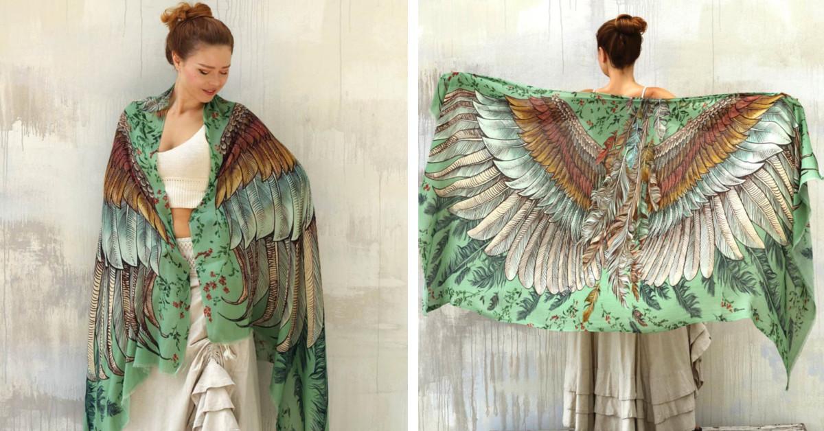 Estes acolhedores xales de pássaro vão te dar asas para te aconchegar no maior estilo