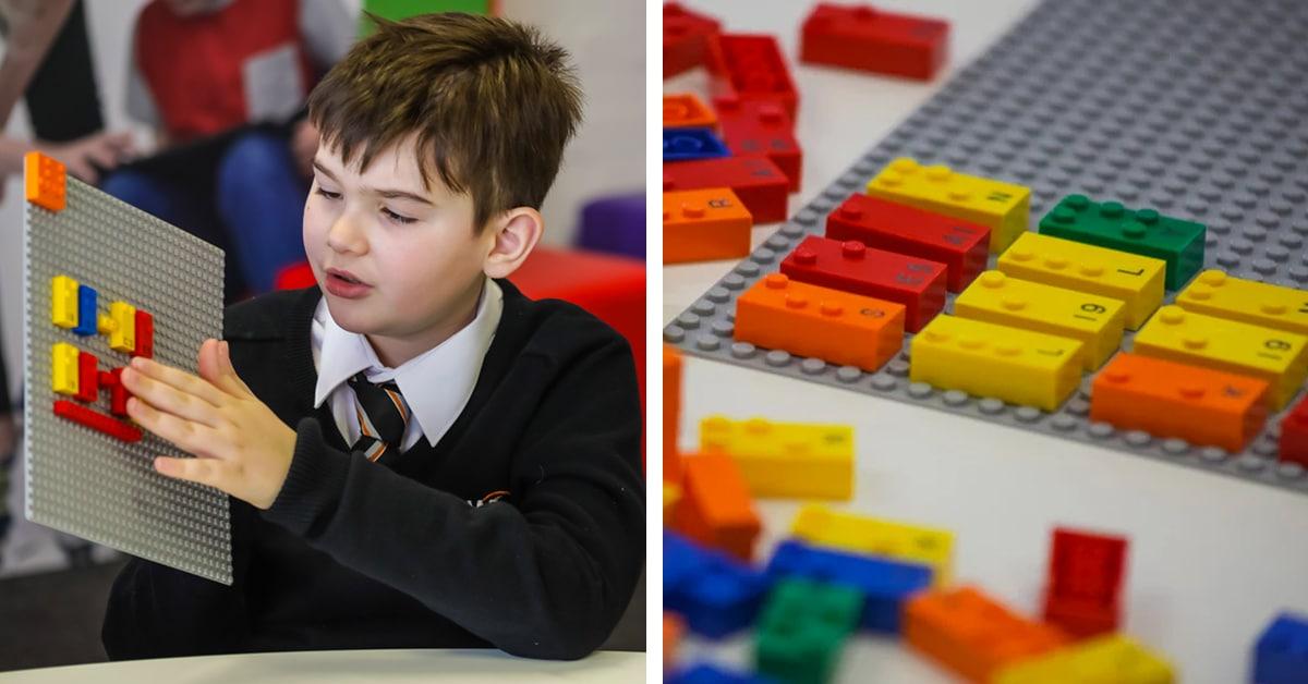 LEGO projeta peças em braile para ajudar crianças com deficiências visuais e cegas aprenderem a ler